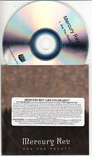 MERCURY REV Are You Ready? 2015 UK 1-track promo test CD Bella Union