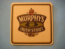 Beer Coaster Bar Mat ~*~ MURPHY'S Smooth, Irish Stout ~ Cork, IRELAND Since 1856