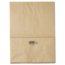 General 1/6 BBL Paper Grocery Bag 57lb Kraft Standard 12 x 7 x 17 500 bags