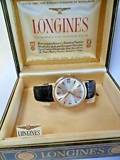 NICE Vintage 1960's 14k Gold Longines Men's 5 Star Admiral Automatic Swiss Watch