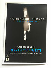Nothing But Thieves live 2016 promo FLYER manchester under my skin tour muse