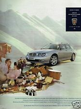 Publicité advertising 2002 Rover 75 Tourer