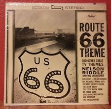 Route 66 Theme LP Nelson Riddle Capitol Stereo ST 1771 VG