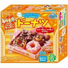 Kracie DIY Candy Kit Happy Kitchen donut Japanese Candy Making popin cookin