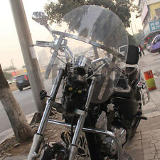Motorcycle Wind screen deflector clear windshield windscreen For Harley cruising