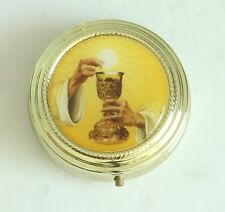 Chalice Pyx Gold Finish Eucharist Minister Deacon Priest