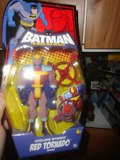 BATMAN BRAVE AND BOLD SERIES CYCLONE SPINNER RED TORNADO, UNOPENED