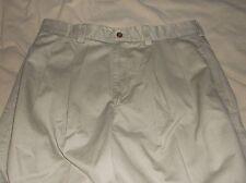 Perry Ellis Premium Chino Pleated Khaki Pants ~ 34x34 ~ NEW!!!