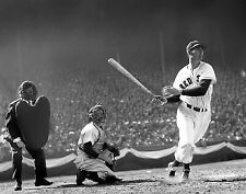 TED WILLIAMS RED SOX GREAT CLASSIC AT BAT8x10 PHOTO