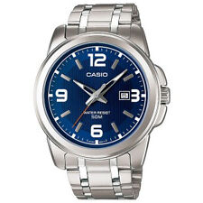Casio MTP-1314D-2A Stainless Analog Watch MTP1314 Big Face XL Blue Dial COD PP