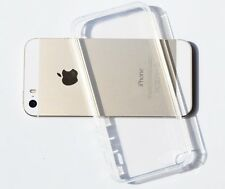 Clear Transparent Crystal Soft TPU Silicone Gel Cover Case for iPhone 5/5s