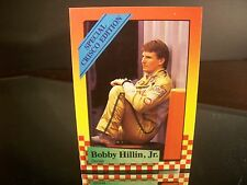Bobby Hillin #8 Miller High Life Maxx Race Cards Crisco Cards 1989 Card #20