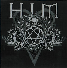 15611 Him H.I.M. Heartagram Skulls Snakes Vines Heavy Metal 666 Sticker / Decal