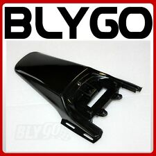 Black Plastic Rear Tail Mud Guard Fender CRF50 Style PIT PRO Trail Dirt Bike