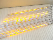 "31.5"" LED 10 Tubes meteor shower Shooting Star Tree Decor String Lights Yellow"