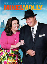 "Mike & Molly: The Complete Fourth Season ""used""(DVD, 2014, 3-Disc Set)"