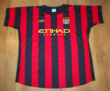 Umbro  Manchester City 2011/2012 away shirt (Size 50)