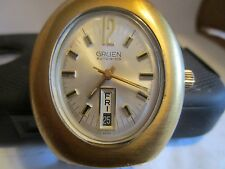 "Gruen Mens Automatic ""Oval"" Vintage  Mens watch -Rare!"