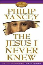 """The Jesus I Never Knew:   """"SIGNED""""    (1999, Hardcover, Special)"""