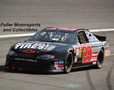 KEVIN HARVICK THE WINSTON 2002 #29 NOW SELL TIRES CHEVY 8X10 PHOTO NASCAR CUP