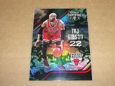 2015-16 Totally Certified TAJ GIBSON #87 Camo SP/25 Chicago BULLS USC Trojans