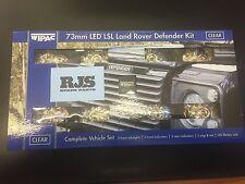 Wipac Land Rover Defender 73mm LED Light Upgrade Kit S6067LED DA1191