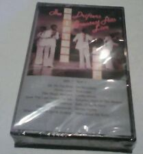 The Drifters Greatest Hits Live Cassette - SEALED