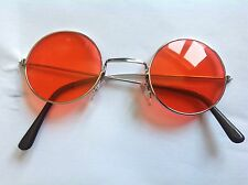 NOEL GALLAGHER OASIS DON'T LOOK BACK IN ANGER ROUND RED RETRO LENNON SUNGLASSES