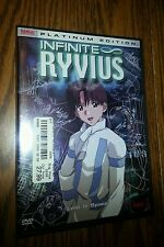 Infinite Ryvius - Vol. 1: Lost in Space (DVD, 2003); Factory Sealed