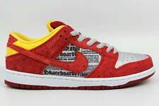 2014 NIB MENS NIKE RUCKUS DUNK LOW PREMIUM SB QS SHOES $150 9.5 action red