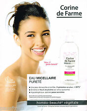 PUBLICITE ADVERTISING 065  2014  CORNINE DE FARME & MISS FRANCE FLORA COQUEREL