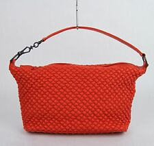New BOTTEGA VENETA Red Quilted Bubble Leather Shoulder Bag Handbag 239988 6551