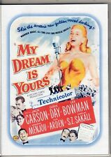 MY DREAM IS YOURS DORIS DAY COLOUR MOVIE  ALL REGION DVD