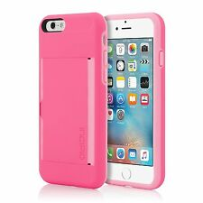 "Genuine Incipio Stowaway Card Case with Kickstand for iPhone 6 & 6s 4.7"" Pink"