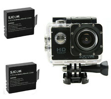 SJCAM SJ4000 HD 1080P Cam Sports Action Waterproof Camera 2x Batteries Original