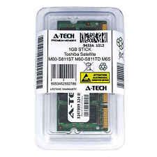 1GB SODIMM Toshiba Satellite M60-S811ST M60-S811TD M65 M65-S809 Ram Memory