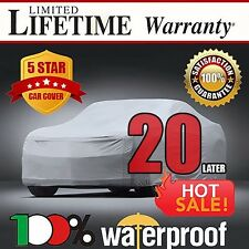 20-LAYER CAR COVER - 100% Waterproof 100% Breathable 100% UV & Heat Protection F