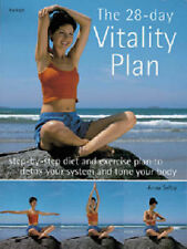 The 28-day Vitality Plan (Hamlyn Health & Well Being) Anna Selby Very Good Book