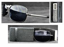 NEW Foster Grant Microvision Folding Sunglasses Ship Special: Buy More and $ave
