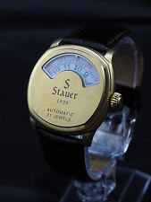 Stauer Jump Hour mechanical automatic watch
