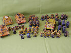 WARHAMMER 40K SPACE MARINE ARMY- IMPERIAL FISTS MANY UNITS TO CHOOSE FROM
