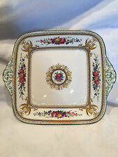 Collectible Vintage 1925 Wedgwood  Bone China Square Plate R1-59550