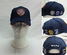 CAPPELLO BLU CON VISIERA N.Y.P.D. NEW YORK POLICE DEPARTMENT TAGLIA UNICA TOPPE