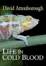 LIFE IN COLD BLOOD/David Attenboroug/Reptiles/Amphibians/Biology/New/Free Ship