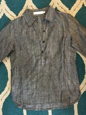 Sunhee Moon 1 S Small Gray Button Shirt Made In San Francisco USA Anthropologie