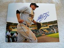Detroit Tigers Brandon Douglas Signed Lakeland Flying Tigers 8x10 Photo Auto