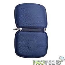 Blue Hard Carry Case Bag for Tomtom Start 1 & 2 V1 V2
