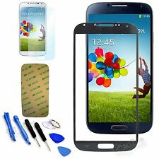 Black Replacement Screen Glass Lens Kit For  Samsung Galaxy S4 SIV i9500 + Tools