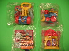 1996-99 McDonalds - Fisher-Price Toddler Toys - Group I - Set of 4 *MIP*