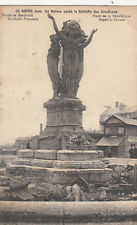 CPA GUERRE 14-18 WW1 REIMS 28 fontaine bartholdi